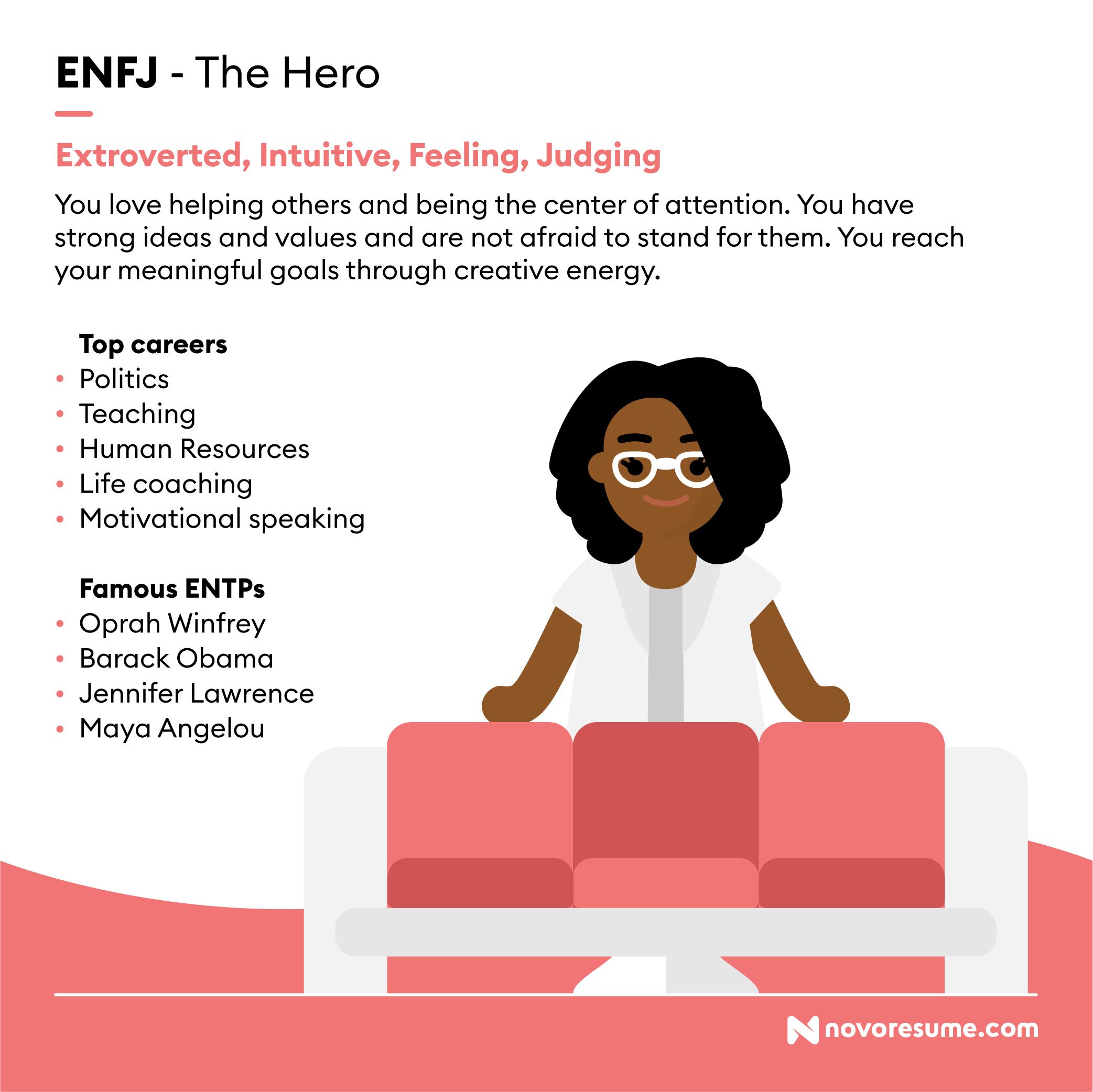 ENFJ The Hero