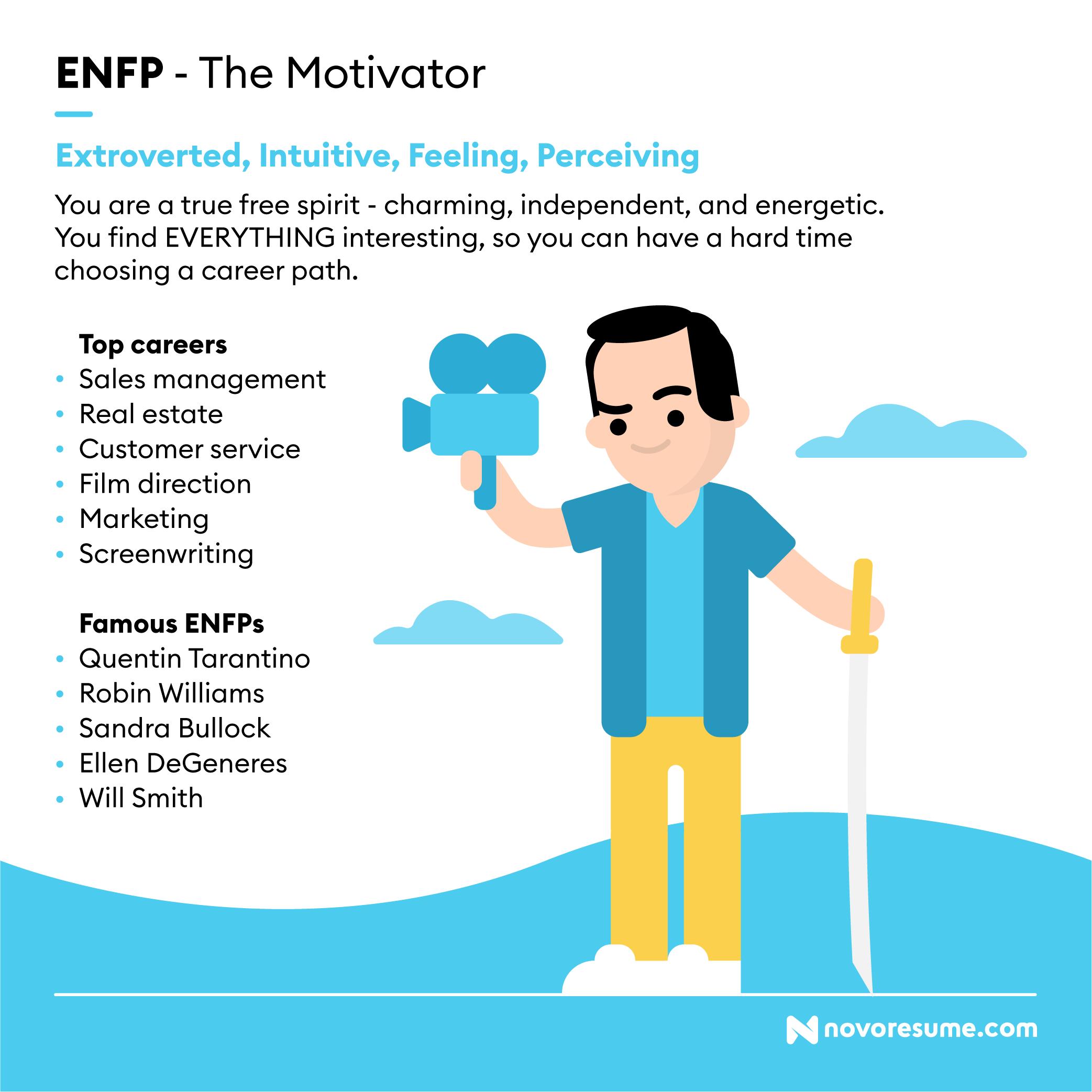 ENFP The Motivator