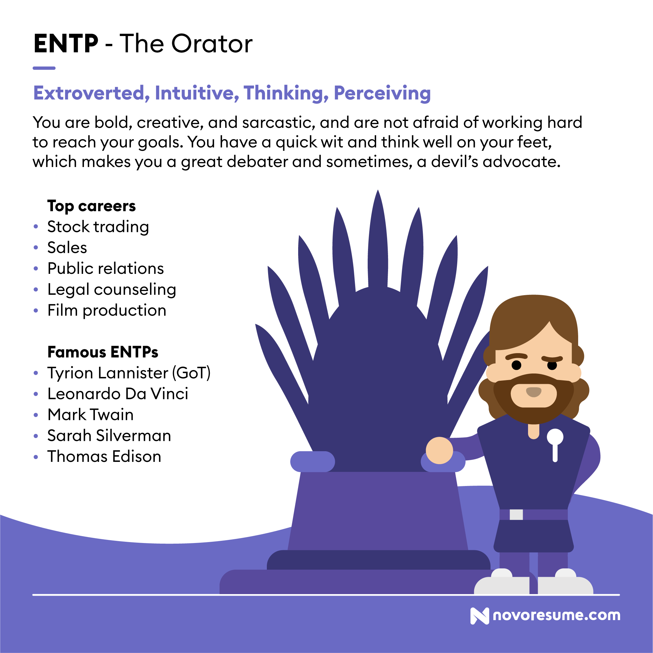 ENTP The Orator