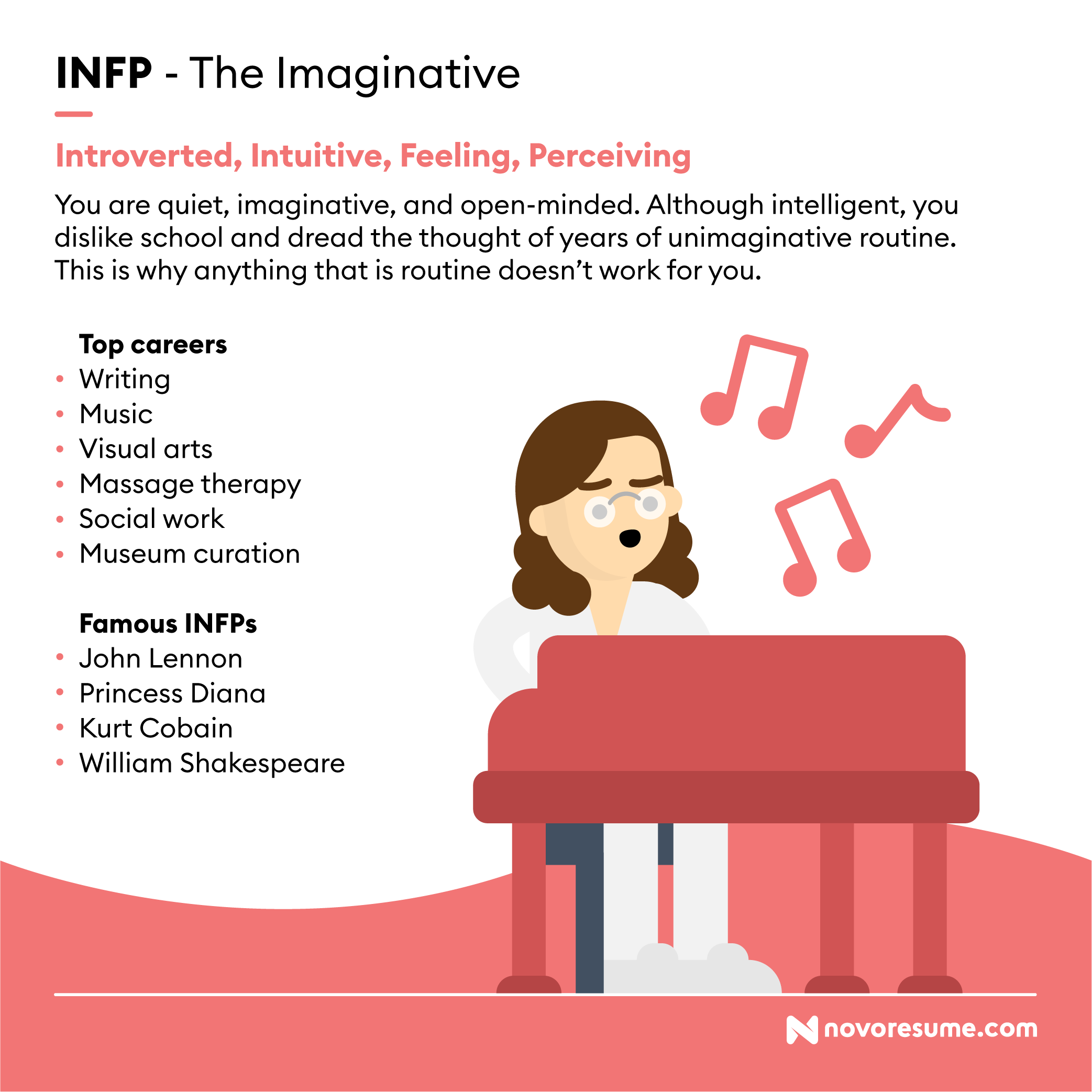 INFP The Imaginative