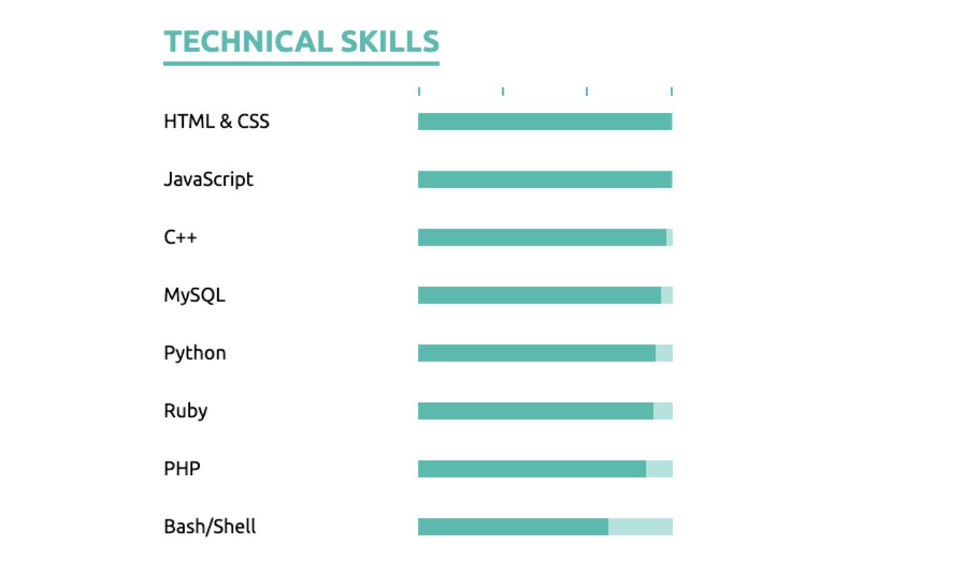 technical skills on a cv