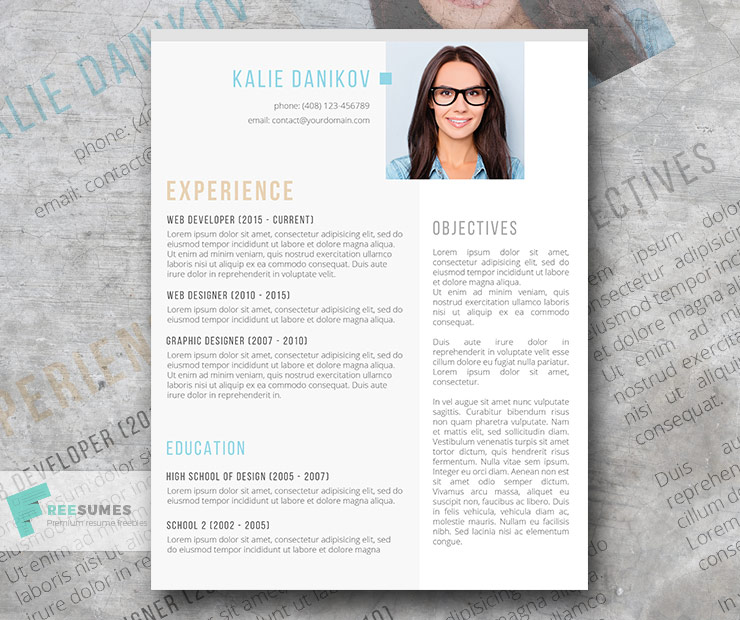 Clean and Compelling Microsoft Word Resume