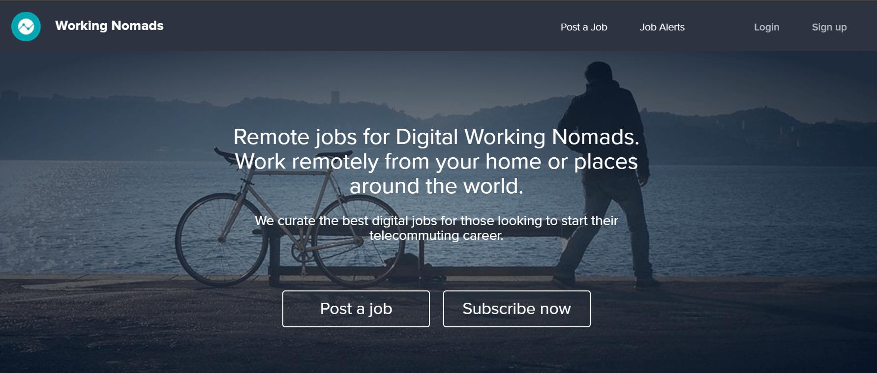 working nomads image