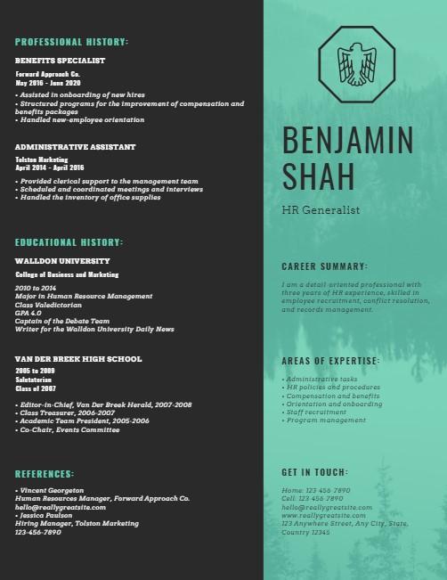 resume design 14
