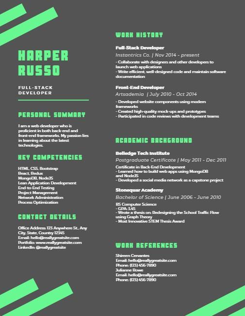 resume design 15