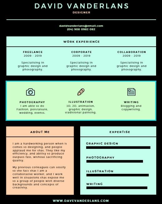 resume design 16