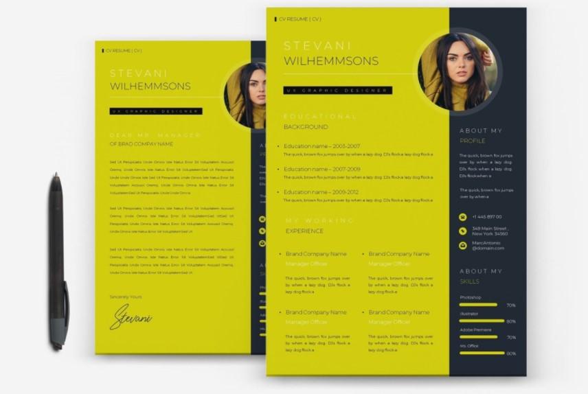 resume design 6