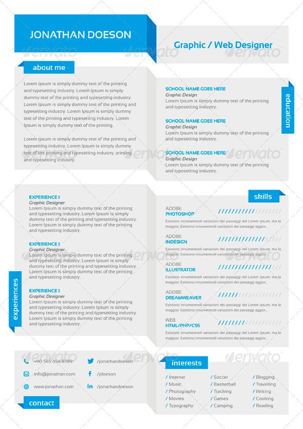 resume design 7