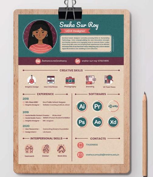 resume design 8