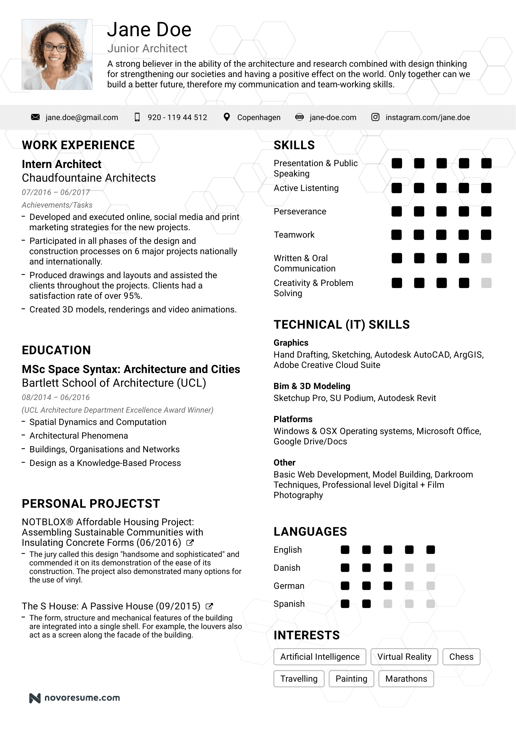 Resume Examples Guides For Any Job 50 Examples