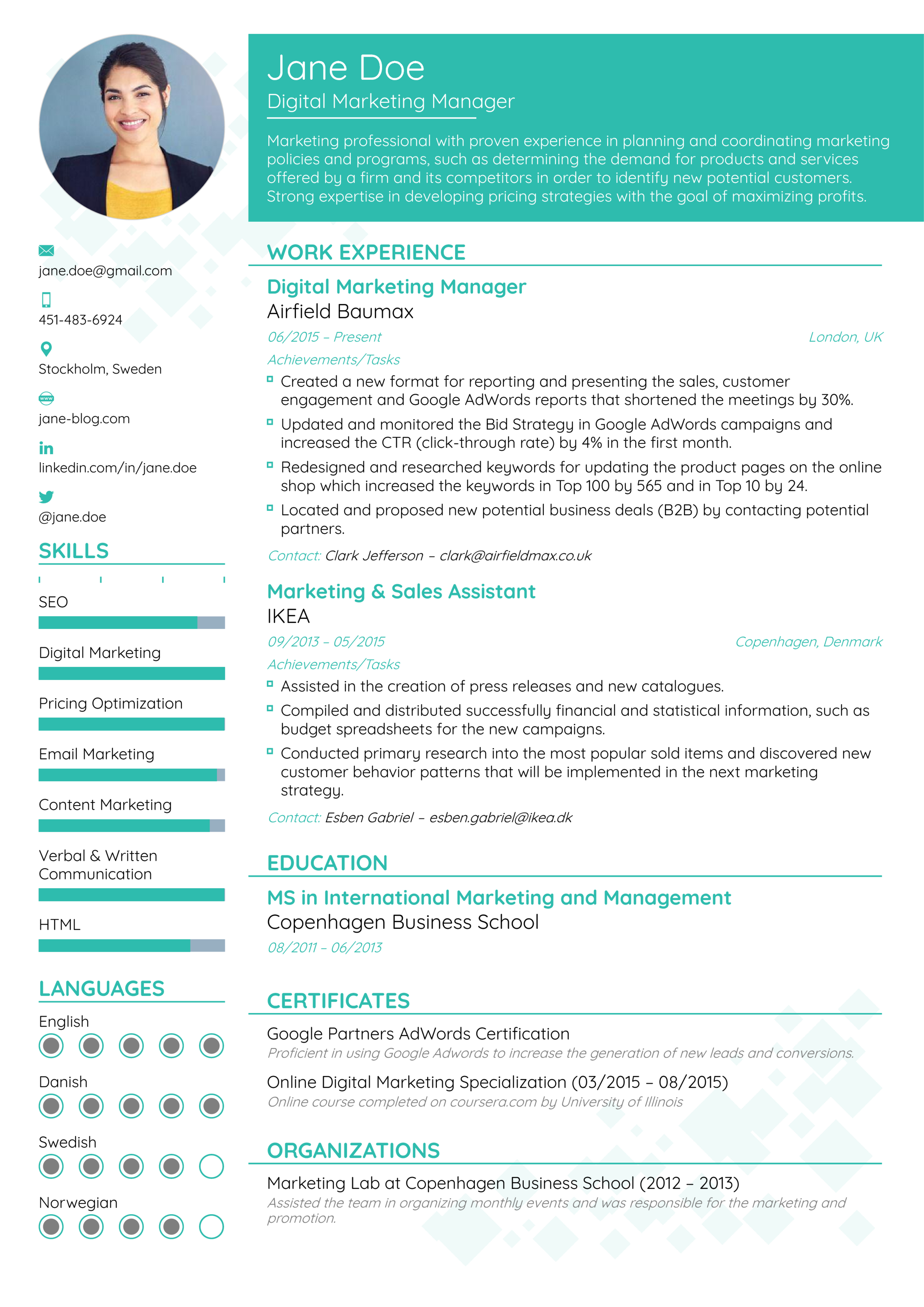 how to pick the best resume format in 2019   examples
