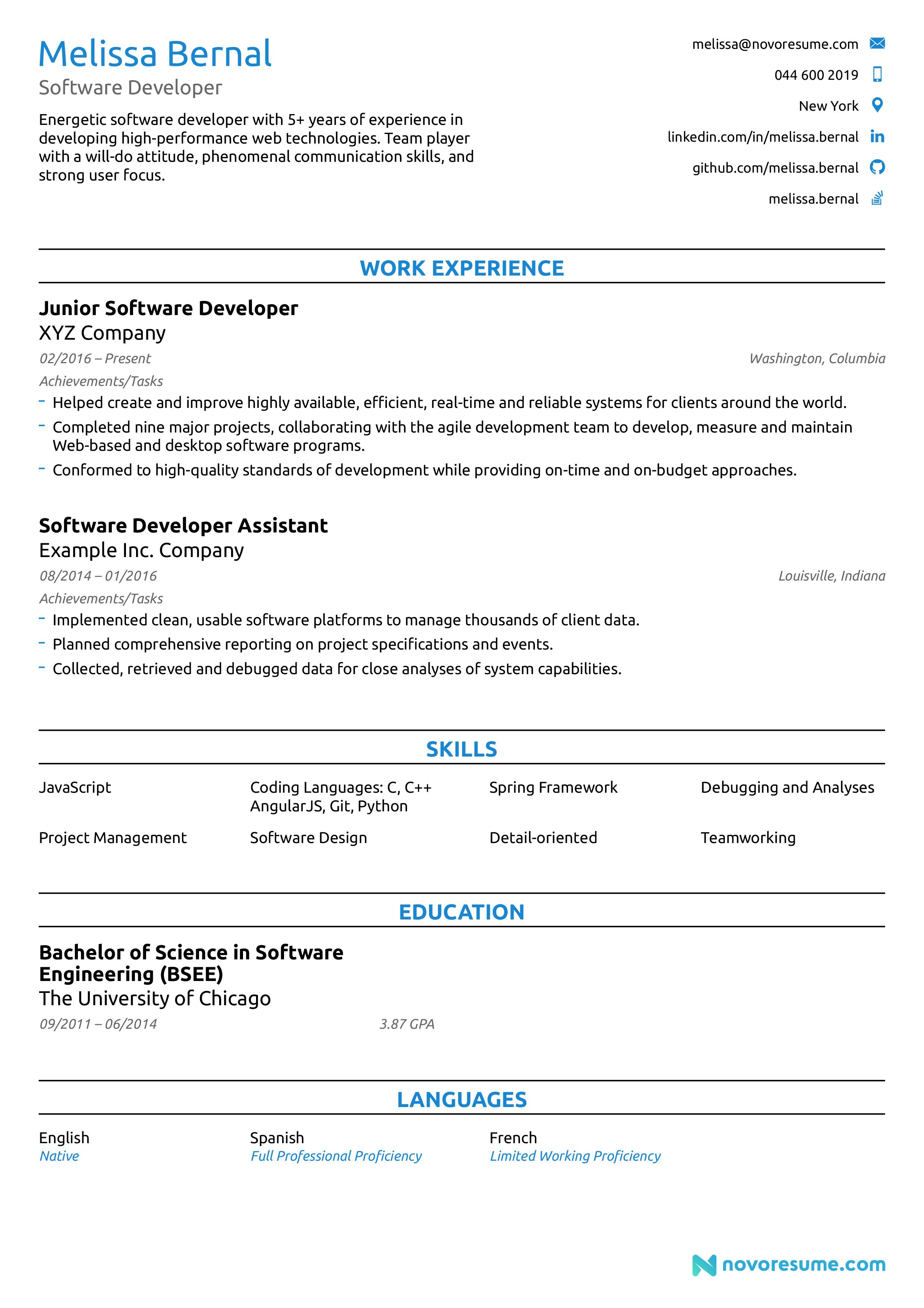 keyword ats optimized resume