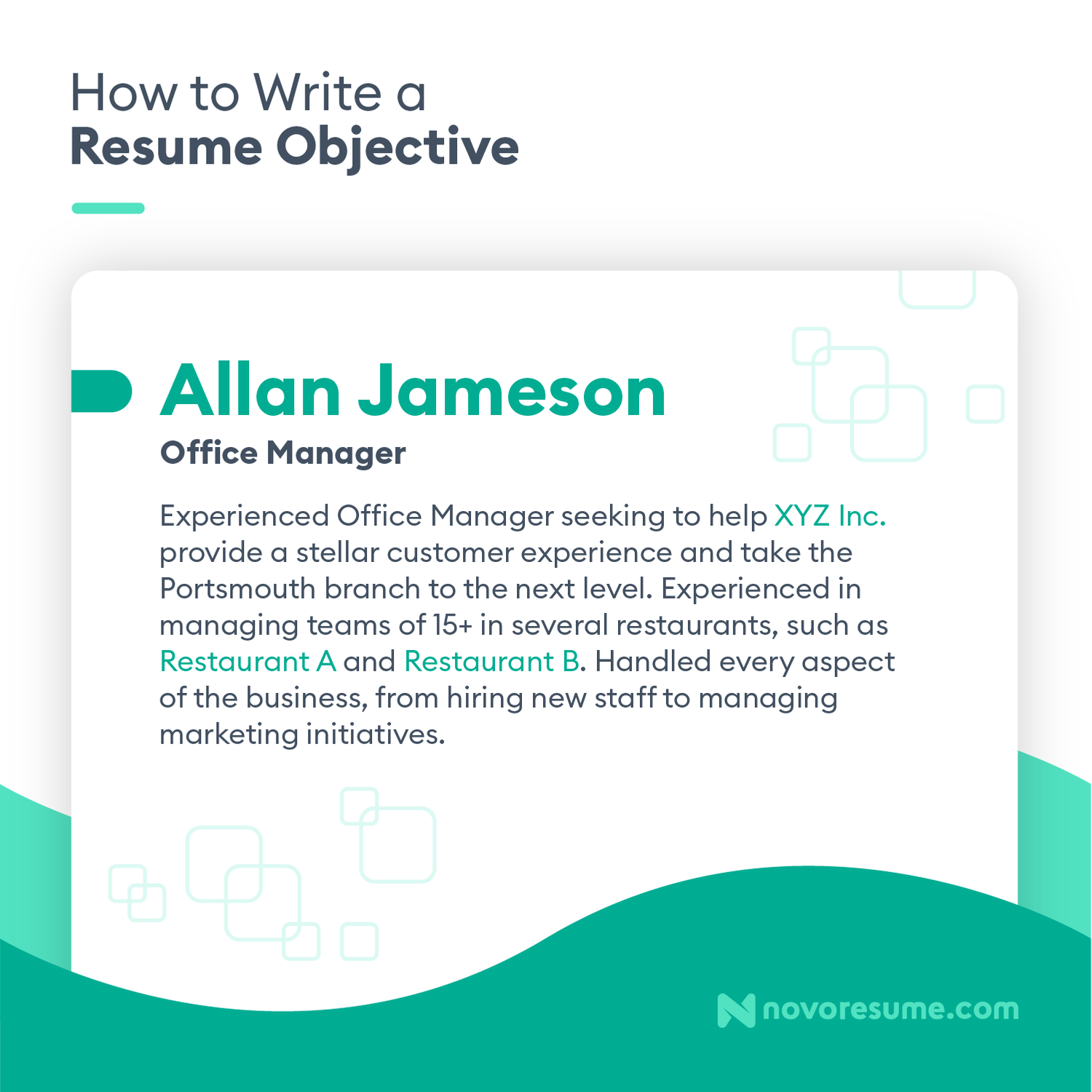 Great objective for resume sample custom creative writing proofreading services for masters