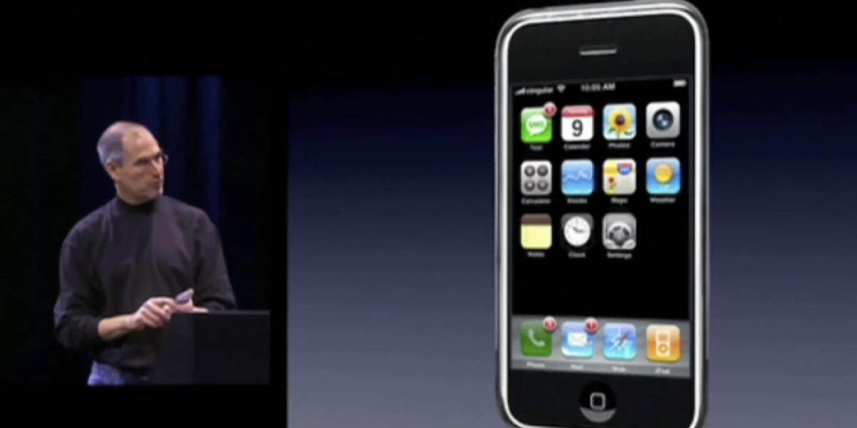 iphone keynote 2007