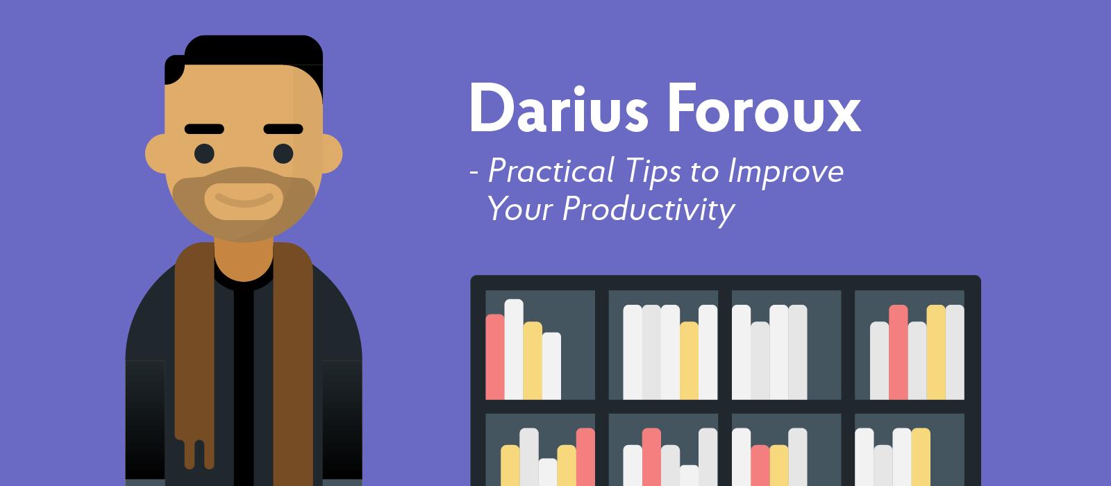 Darius Foroux career influencer