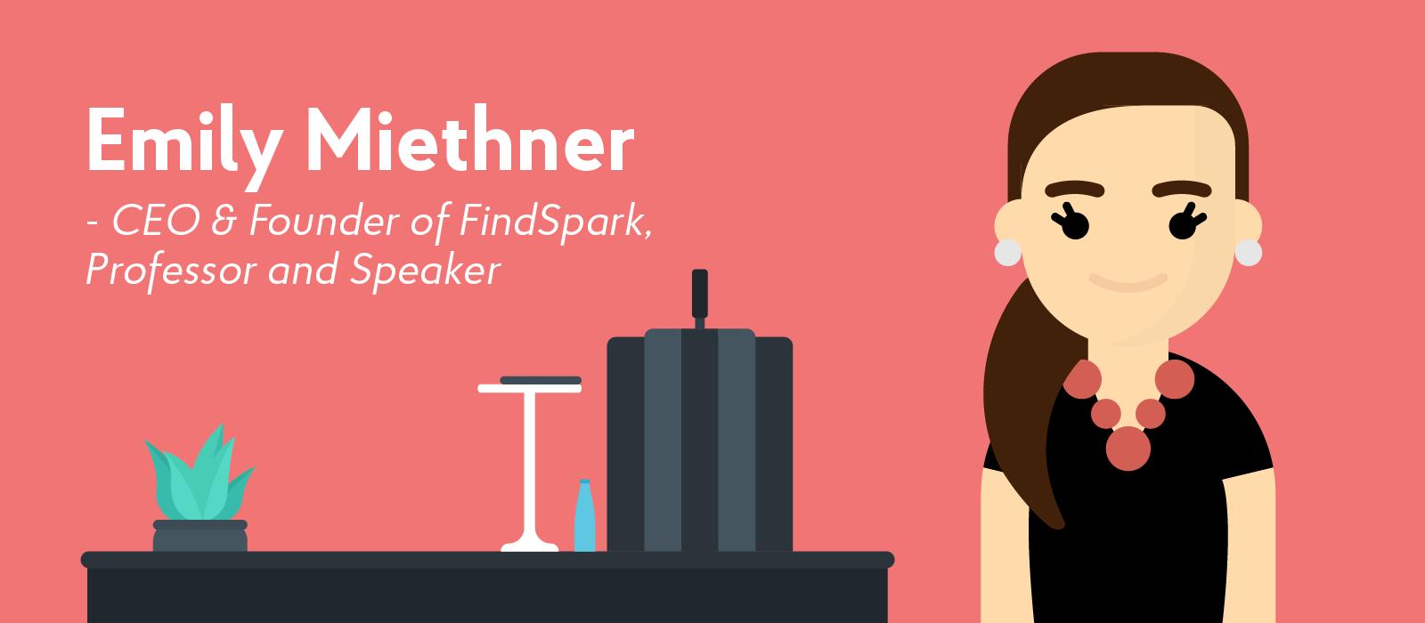Emily Miethner career influencer