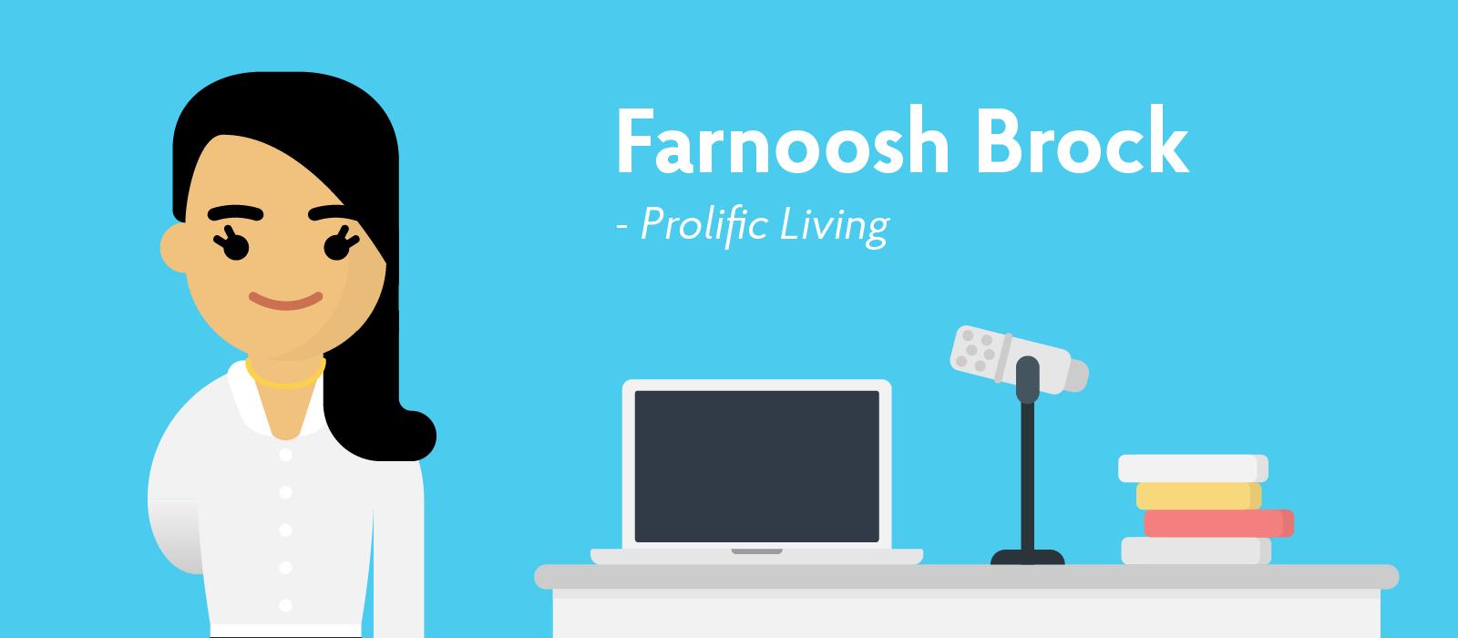Farnoosh Brock career influencer