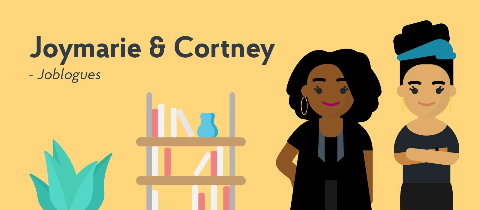 Joymarie and Cortney career influencers